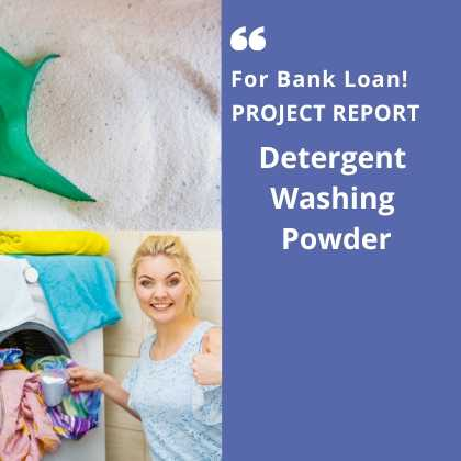 Detergent Washing Powder Project Report for Bank Loan