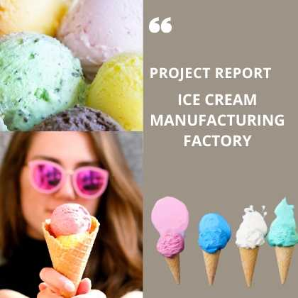 Ice Cream Manufacturing Project Report Factory
