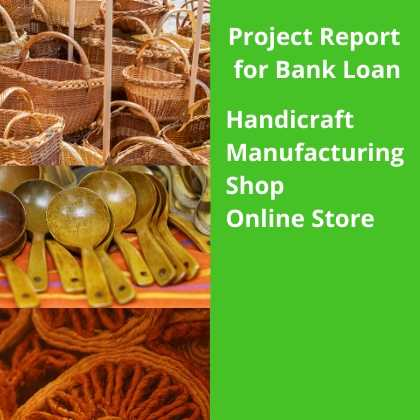 Manufacturing Shop and Online Store of Handicraft Project report for bank Loan