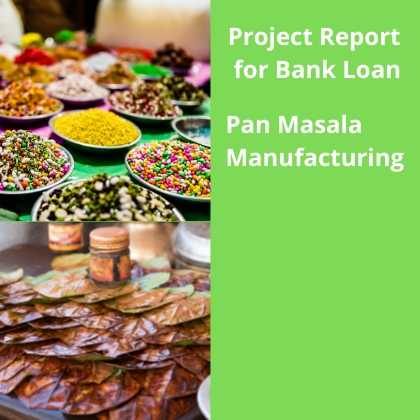 Pan Masala Manufacturing Project Report for Bank Loan