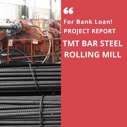 TMT Bar Rolling MIll Project Report Steel
