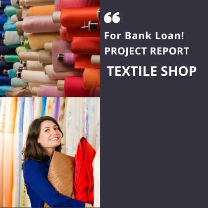 Textile Shop project report